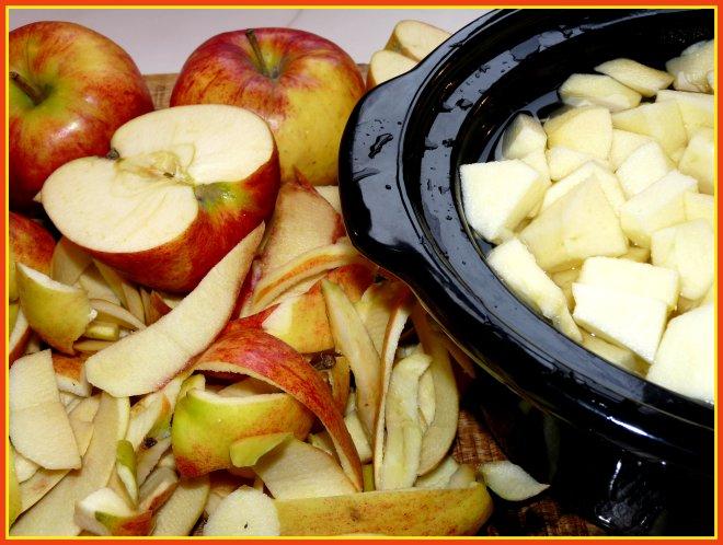Äpfelimtopf