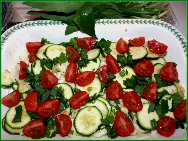 Gemüse in form