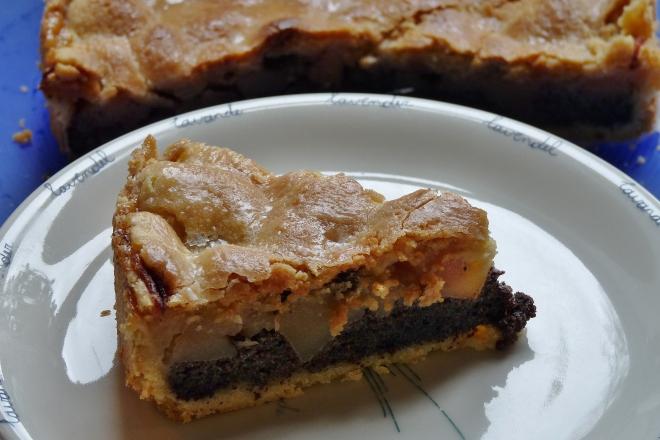 Alle Lieben Mohn Gedeckter Apfel Mohn Kuchen Homesteadnotes