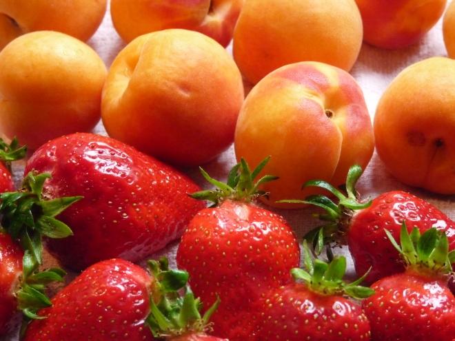 Erdbeeren/Aprikosen