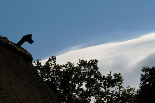 Dach und Himmel