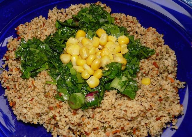 Taboule mit Salat