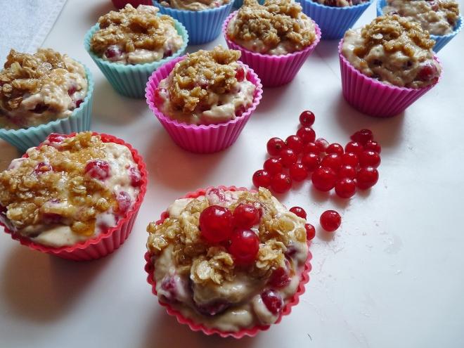 Streuselmischung auf Muffins
