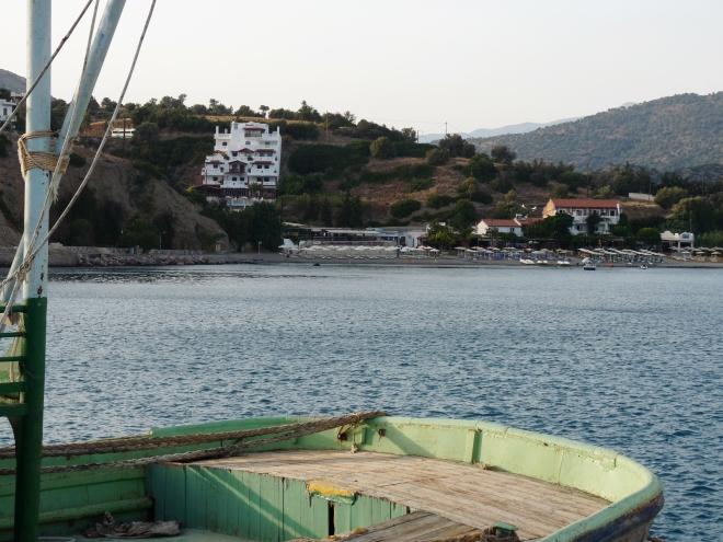 Bucht mit Hotel