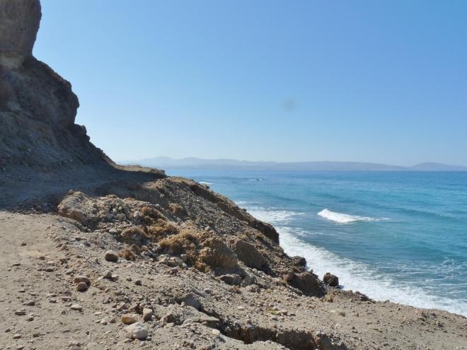Weg über der Bucht