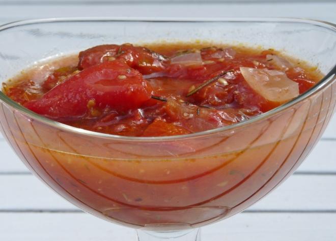 Tomaten-Sugo in Glas