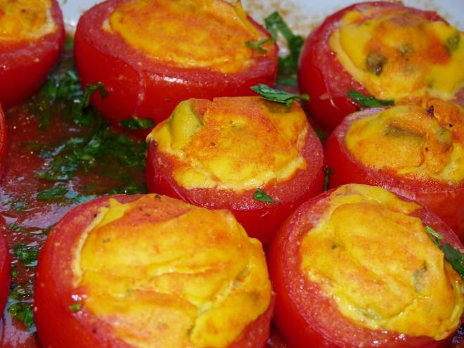fertige Tomaten dicht