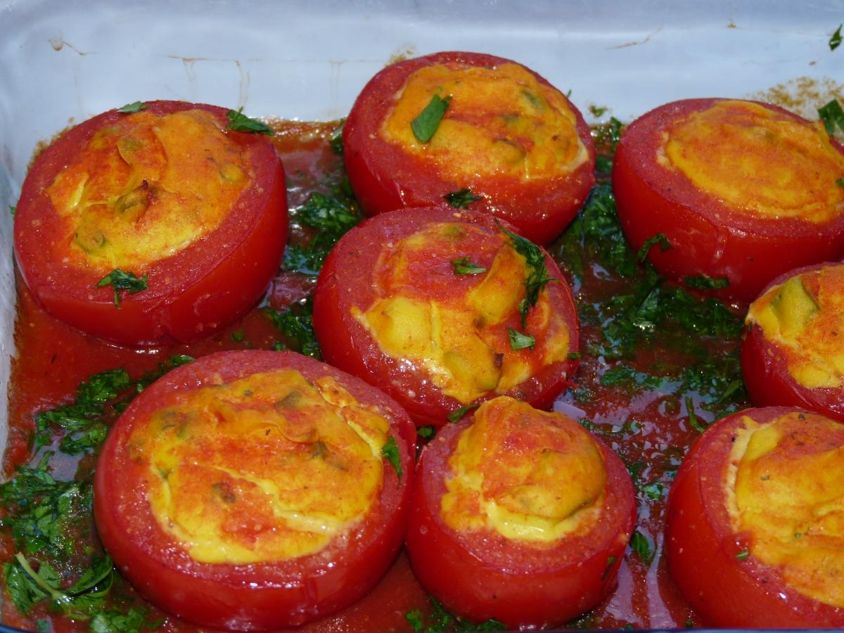 Gefüllte Tomaten mit ?