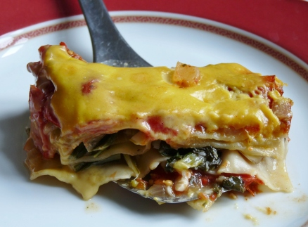 Lasagne mit Mac Cheese-Sauce