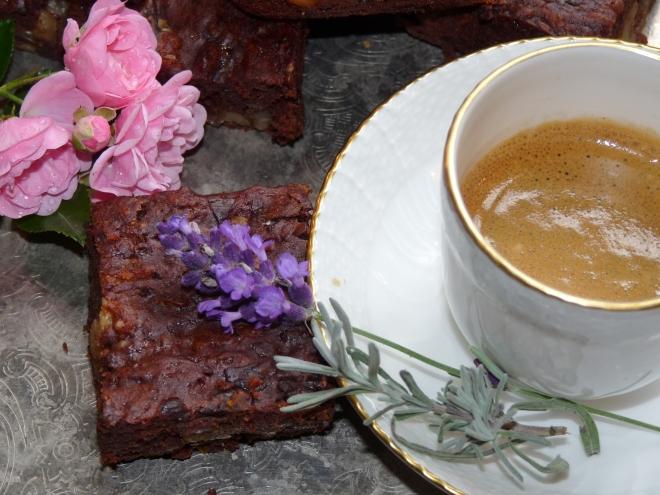Brownie mit Espresso