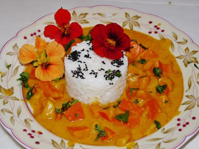 Fertiges Curry