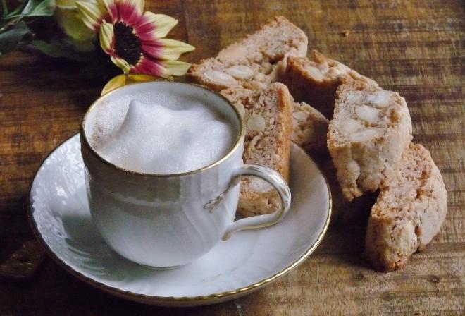 Tasse und kekse