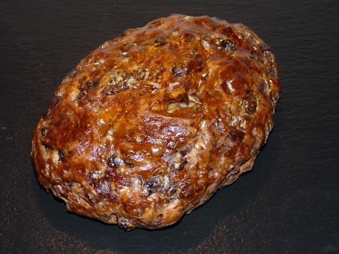 glasiertes Brot