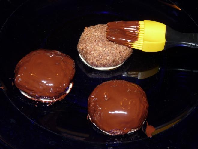 Lebkuchen mit Pinsel
