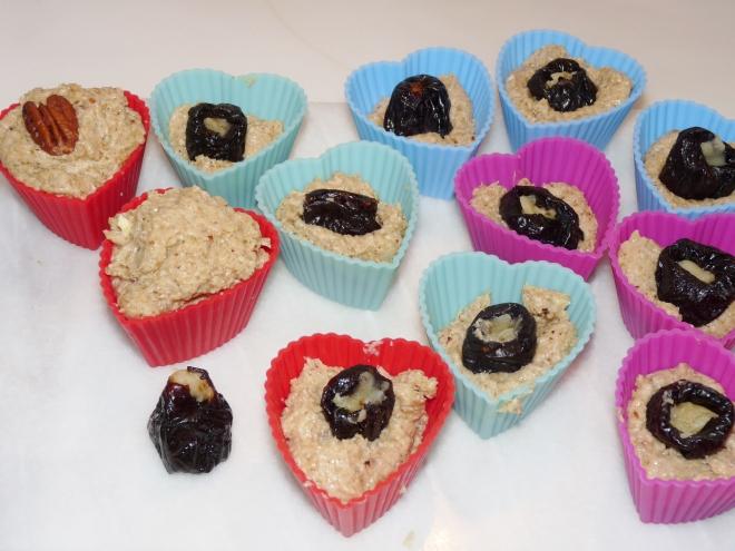 Muffins mit Pflaume