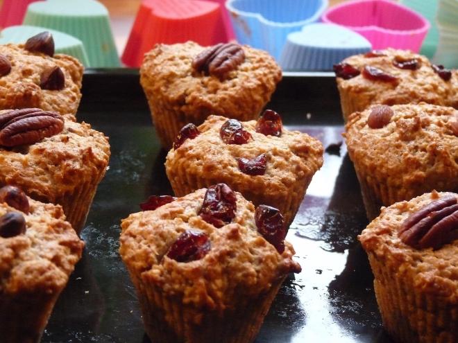 Muffins auf Blech