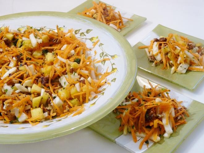 kleine und große Salatteller