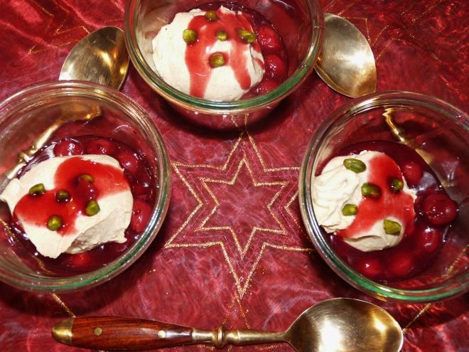 Dessert in Gläsern