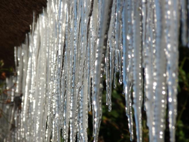 Eiszapfenvorhang