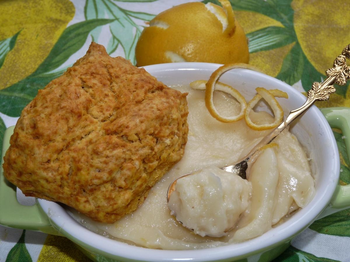 Veganes Lemon Curd & Scones: Das Dreamteam!