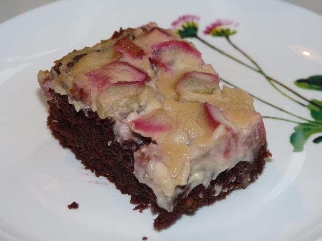 Kuchen auf Teller