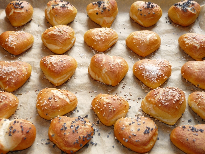 Herzen aus dem Ofen