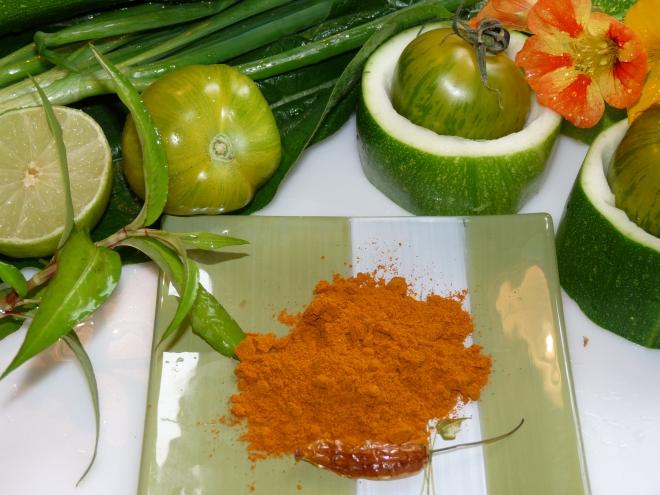 Curry-Zutaten