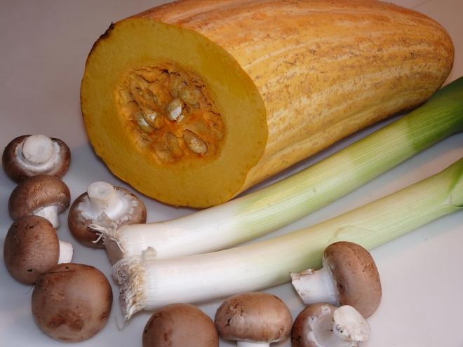 Gemüse-Zutaten
