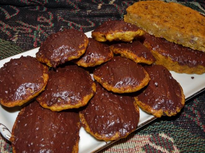 Madelaines und tartes