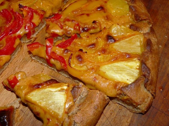 Pizza-Tortenstück