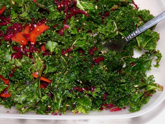 Salat in Lunchbox