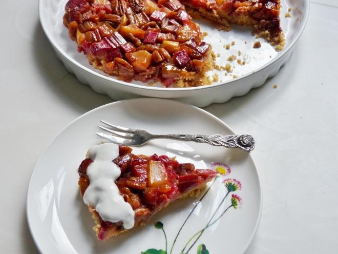 Kuchenstück und Anschnitt