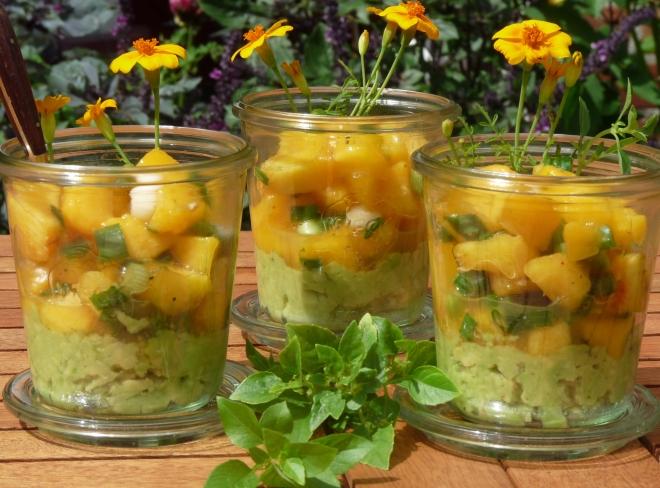 3 Gläser Ceviche