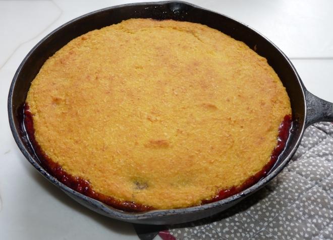 Kuchen in Pfanne