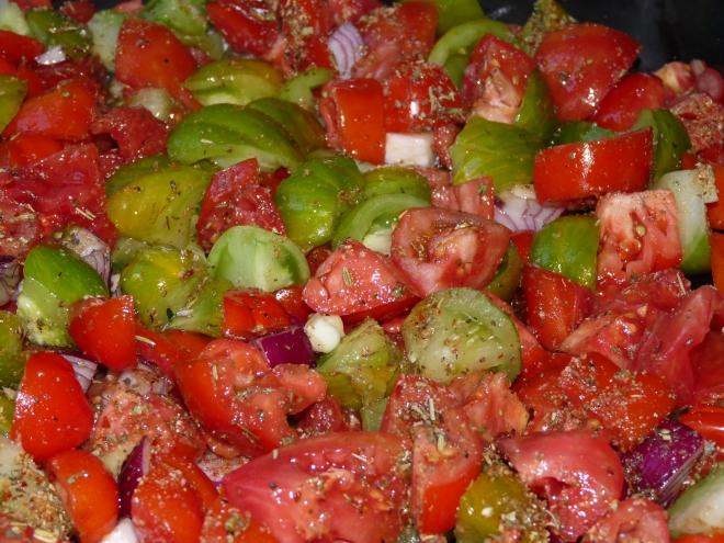 Tomaten beim Einkochen