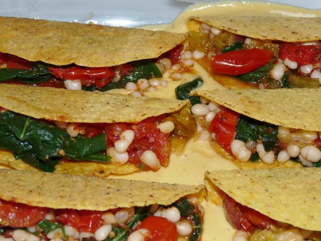 Tacos gefüllt