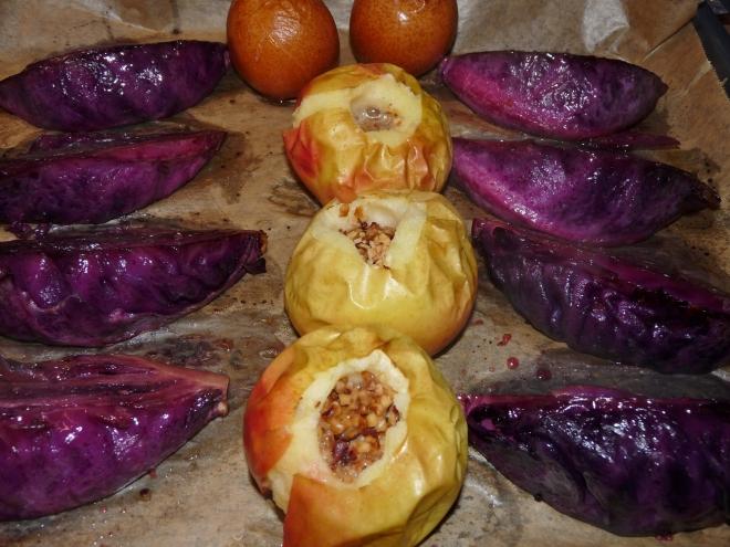 Bratäpfel aus dem Ofen