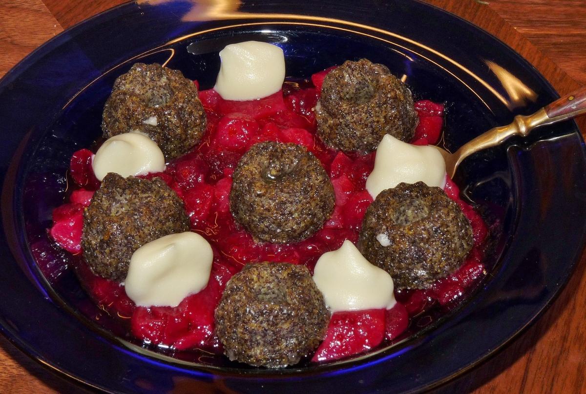 Mohn-Polenta-Küchlein oder Pudding - manchmal sind die guten Dinge so einfach!